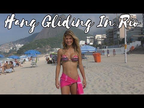 Hang Gliding in Rio!!!!!