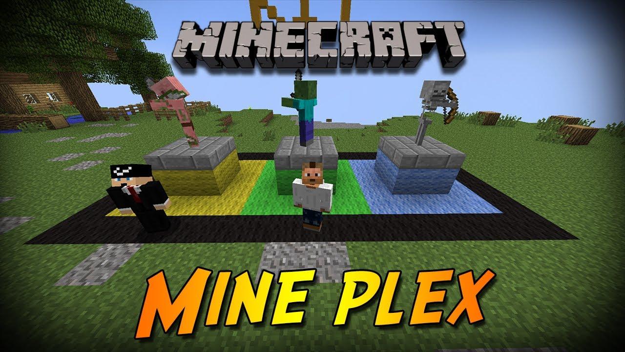 Minecraft Mineplex YouTube
