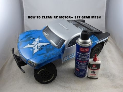 How to Clean an RC Brushed Motor