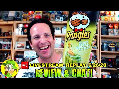 Pringles® SCREAMIN' DILL PICKLE Review 🥔🥒 | Livestream Replay 6.26.20 | Peep THIS Out! 🕵️‍♂️