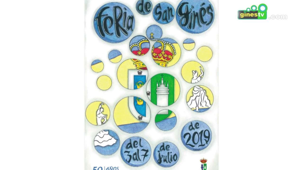 La Feria de San Ginés, que en este 2019 cumple 50 años, ya tiene cartel anunciador