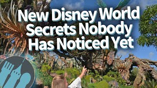 NEW Disney World Secrets Nobody Has Noticed Yet