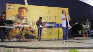 Nuvvunte naa jathaga | Ennodu nee | Santosh & Abirami | ARR Tribute | Team Dhwani | Infosys Chennai