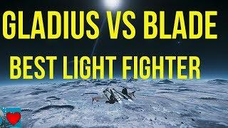 Star Citizen 3.2 Gameplay - Gladius vs Blade