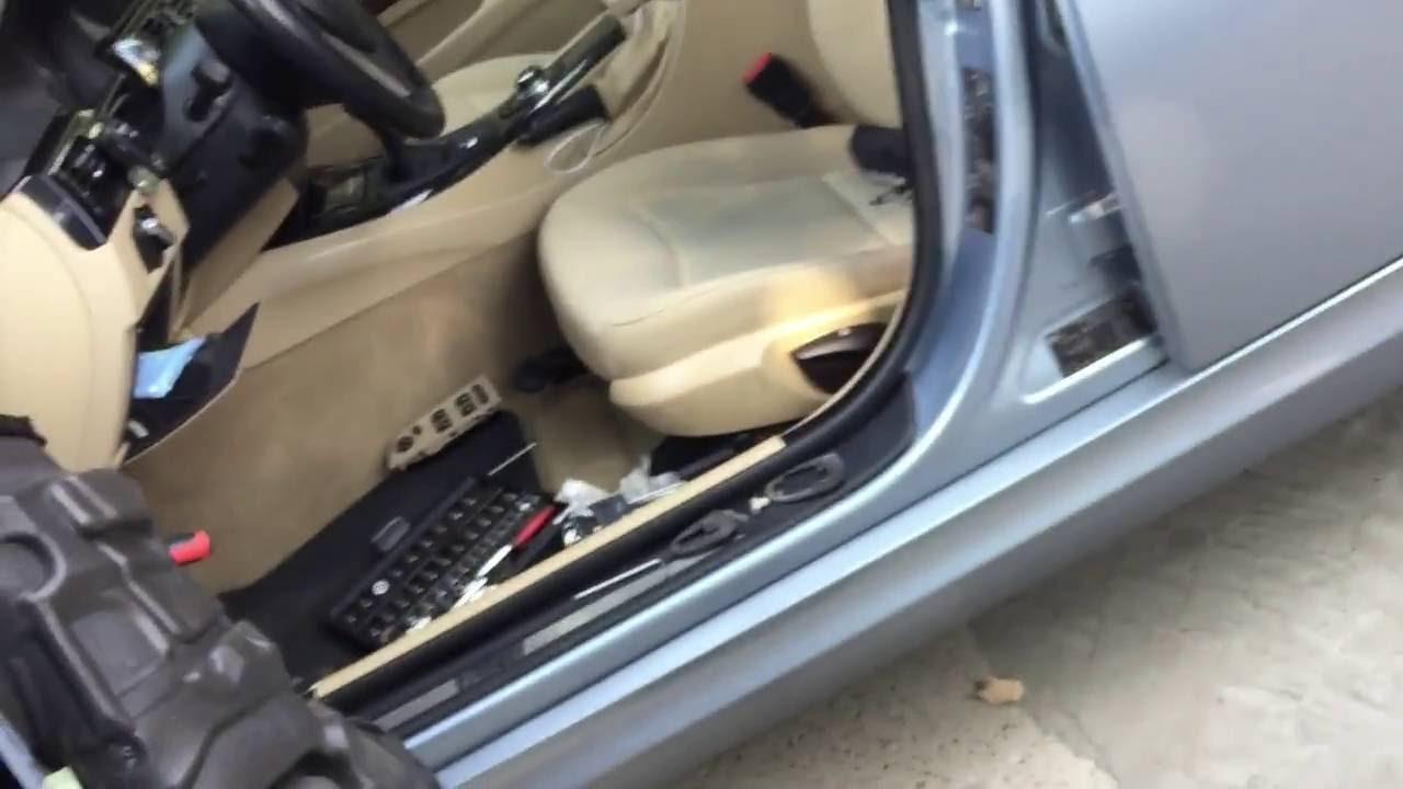 & BMW e90 Door lock/hinge repair DIY - YouTube