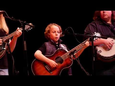 """Blue Ridge Mountain Blues"" & more ~ Blackberry JAM @ Junior Appalachian Musicians Showcase"