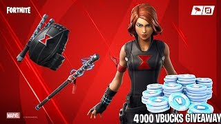 #Avengers Endgame!!! 4,000 VbucksGiveaway in 546 subs!! T-series Vs Pewdiepie!! #Vbucks,#Fortnite