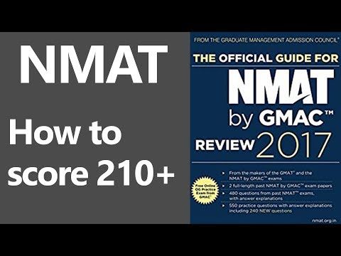 How To Score 210+ in NMAT Exam 2017