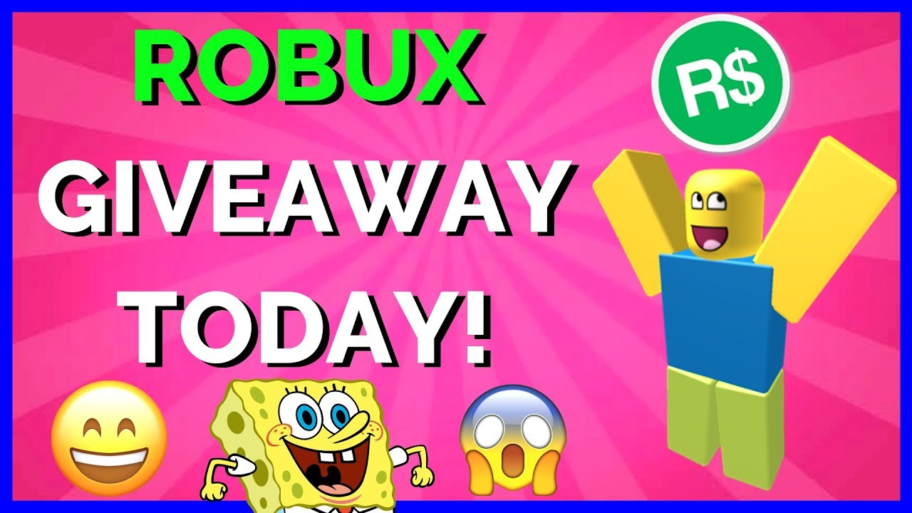 Robux Give Away Live Live Robux Giveaway Today One Winner Every Hour Viewers Pick The Games Youtube