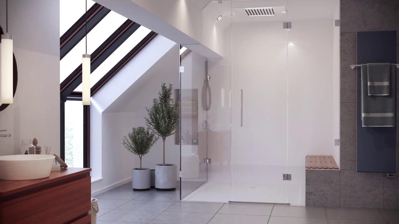 Aqata - Luxury Shower Screens & Enclosures - YouTube