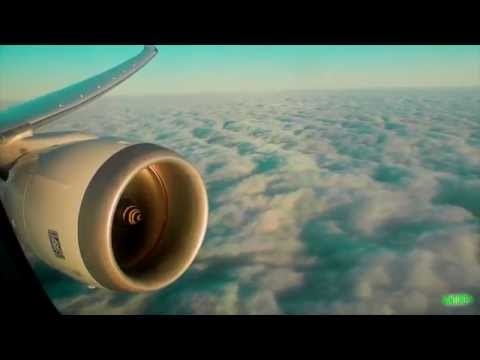 Norwegian 787-8 Evening Approach, Landing and Taxi at London Gatwick Airport!