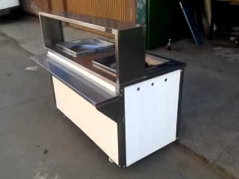 Plancha para tacos con vaporera y quemador de alta presion - Mueble de plancha ...
