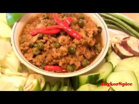 Khmer dip how to make pahok khtiss youtube for Angkor borei cambodian cuisine