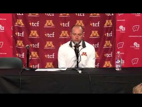 Press Conference: P.J. Fleck on Gophers' 37-15 Win at Wisconsin