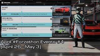 Forza Motorsport 7 - April #Forzathon Events #4 (April 26 - May 3)