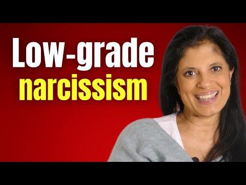 Low-grade narcissism