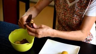 割烹女将が教える、簡単な栗の鬼皮剥きの方法 thumbnail