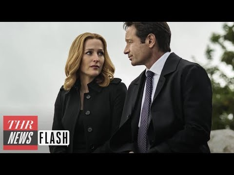 Gillian Anderson Confirms She Is Leaving 'The X-Files,' 'American Gods'   THR News Flash