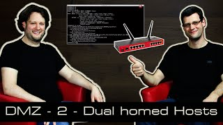 DMZ - 2 Dual Homed Hosts [deutsch]