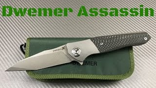 Maxace Dwemer Assassin framelock Knife    This Assassin takes no Prisoners !