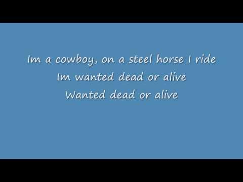 Wanted Dead Or Alive - Cover - Bon Jovi - Lyrics