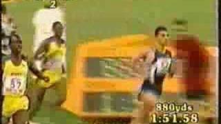 Hicham el Guerouj the Moroccan Knight 1 mile run world record