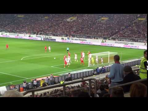 VFB vs. Union - 44. Minute: Ecke Union - Kroos (2017 live @ Mercedes-Benz Arena - Stuttgart)