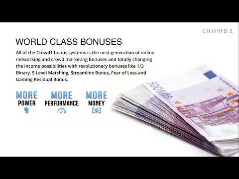 Crowd1- Change Your Life - Make Money With The Alternative Of Workmines