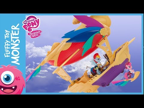 Playing With Rainbow Dash Pirate Air Ship The Movie!!!