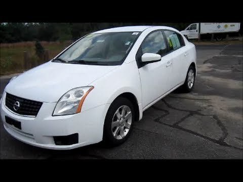 2007 Nissan Sentra 2 0S White Start Up Engine & In Depth