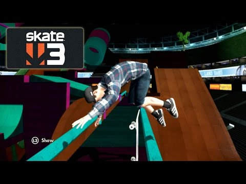 Skate 3: Punched in the Guts [PS3 Gameplay, Commentary]
