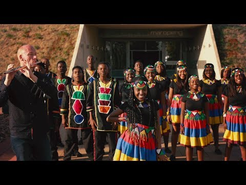 Shape Of You - Ed Sheeran By Ndlovu Youth Choir And Wouter Kellerman (flute)