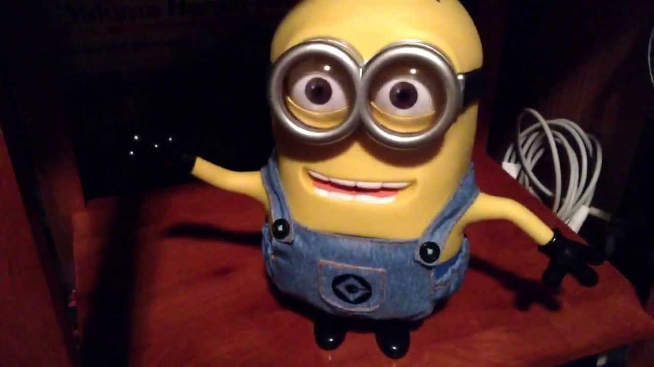 Despicable Me 2 Talking Minion Dave Exclusive At Toys R Us