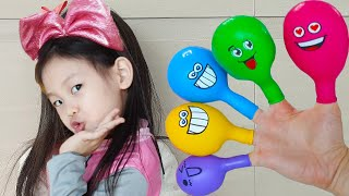Balloon Song | 동요와 아이의 노래 | 어린이 교육 | Daddy Finger Nursery Rhymes