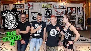 NO THRILLS: UK PUNK + MAKING A DIY ALBUM interview Rebellion Festival 2018