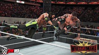 WWE 2K19 - Randy Orton vs AJ Styles Wrestlemania 35 Prediction Highlights