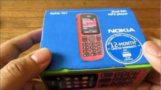 Nokia 101 Unboxing - Budget Dual-SIM With Mp3 / FM Radio