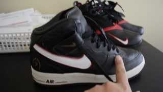 Michael Vick Air Force 1 review - YouTube
