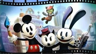 DISNEY EPIC MICKEY 2 EL PODER DE DOS (wii) español latino voces intro y gameplay