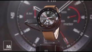 Смарт-часы LG G Watch, G Watch R и KizON на IFA2014