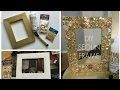 How To Make a Cardboard Photo Frame - Home DIY | Room Decor 2018 SUPER EASY AND CHEAP TO MAKE !!!!