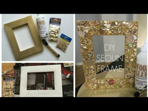 How To Make A Cardboard Photo Frame Home Diy Room Decor 2018