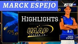 Marck Espejo Highlights! ADMU |UAAP Season 79 MV