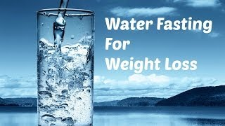 Water Fasting Weight Loss - Ep55 (Can you lose weight with water fasting?)