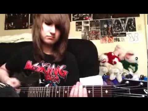 Break Down The Walls-Asking Alexandria guitar cover