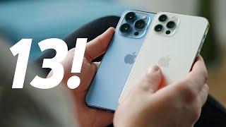 iPhone 13 и 13 Pro — распаковка и обзор