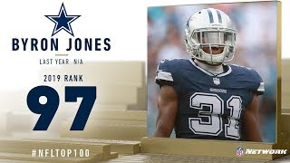 #97: Byron Jones (CB, Cowboys) | Top 100 Players of 2019 | NFL