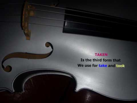 The Irregular Verb Song by Ulf Evaldsson