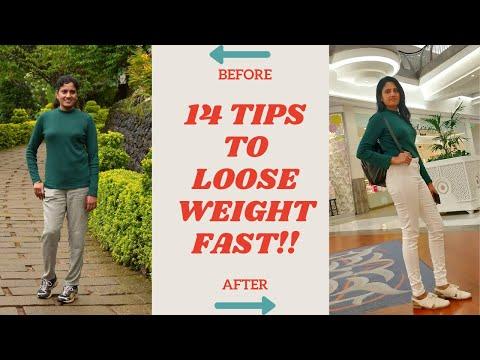 How To Lose Weight Fast For Both Men & Women? 14 Easy Tips To Lose Weight Fast & To Be Fit 💪🏻💪🏻 💪🏻💪🏻