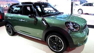2015 Mini Cooper S Countryman All4 - Exterior, Interior Walkaround-Debut at 2014 N Auto Show